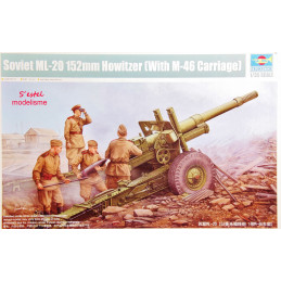 Trumpeter  1/35   Soviet ML-20 152mm Howitzer (With M-46 Carriage)