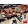 MiniArt  1/35   Railway Gondola 16,5 - 18t