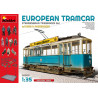 MiniArt  1/35   European Tramcar w/ Crew & Passengers