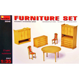 MiniArt   1/35   Furniture Set