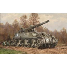 Italeri   1/72  M12 GMC