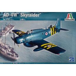 Italeri  1/48  AD-4W Skyraider