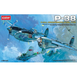 Academy  1/48  P-38J,...