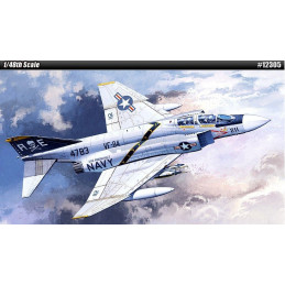 Academy  1/48  USN F-4J...