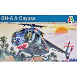 Italeri  1/72   OH-6 A Cayuse