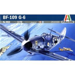 Italeri  1/72  BF-109 G-6