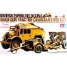 Tamiya  1/35   British 25PDR. Field Gun & Quad Gun Tractor (Canadian Ford F.G.T.)