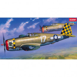 Academy  1/72   P-47D...