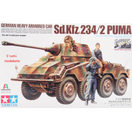 Tamiya  1/35   German Heavy Amoured Car Sd.Kfz.234/2 PUMA