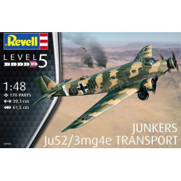 Revell  1/48  Ju52/3mg4e...