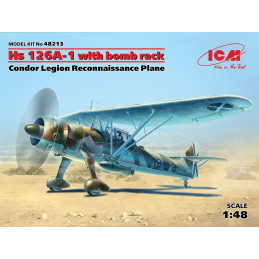 ICM  1/48  Hs 126A-1 With...