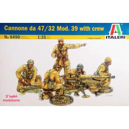 Italeri  1/35    Cannone da...