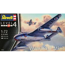 Revell 1/72   Vampire F Mk. 3