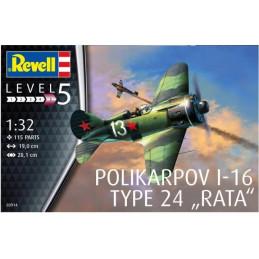 Revell  1/32   Polikarpov...