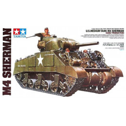 Tamiya  1/35  U.S. Medium Tank M4 - Sherman Early Production
