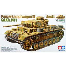 Tamiya  1/35  Panzerkampfwagen III Sd.Kfz. 141/1 Ausf.L