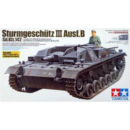 Tamiya  1/35  Sturmgeschutz III Ausf.B (Sd.Kfz. 142)