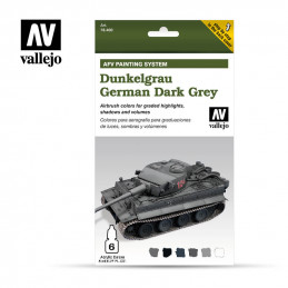 Vallejo  Dunkelgrau German...