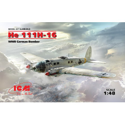 ICM  1/48  He 111H-16  WWII...