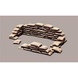 Italeri    1/35    Sandbags