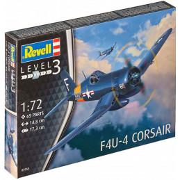 Revell   1/72   F4U-4  CORSAIR