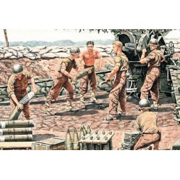 Master Box  1/35  U.S. Artillery Crew