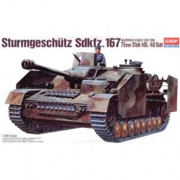 Academy  1/35   Sturmgeschutz  Sdkfz.167  75mm Stuk 40L/48 Gun