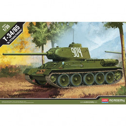 """Academy  1/35  T-34/85  """"No. 112 Factory Production"""""""