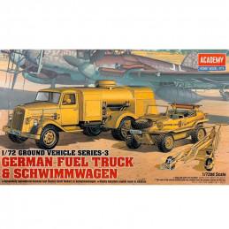 Academy  1/72  German Fuel...