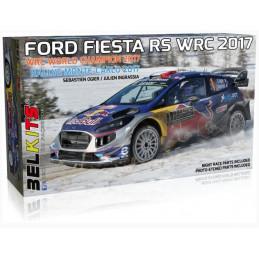 """Belkits   1/24     Ford Fiesta RS WRC 2017  """"Rallye Monte-Carlo 2017"""""""