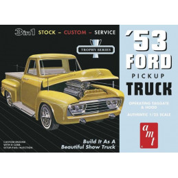 AMT  1/25   '53 Ford Pickup...