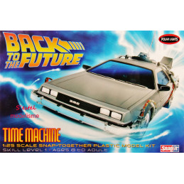 "Polar Lights  1/25    DeLorean DMC-12  ""Regreso Al Futuro - Back To The Future"""