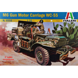 Italeri  1/35    M6 GMC WC-55