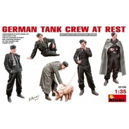 MiniArt German Tank Crew at...