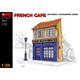 Miniart   1/35    French Cafe