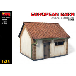 MiniArt   1/35   European Barn