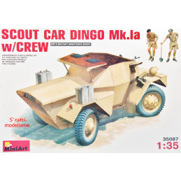 MiniArt  1/35  Scout Car...