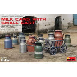 MiniArt  1/35  Milk Cans...