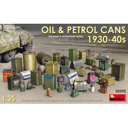 MiniArt  1/35  Oil & Petrol...
