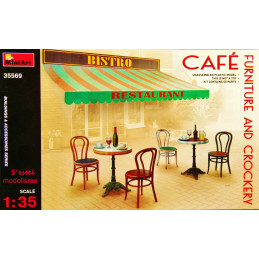 MiniArt  1/35   Cafe...