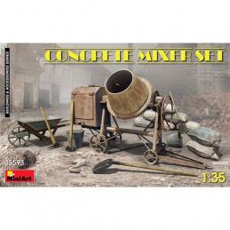 MiniArt  1/35  Concrete...