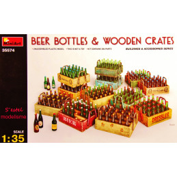 MiniArt  1/35  Beer Bottles...