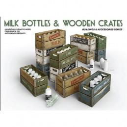 MiniArt  1/35  Milk Bottles...