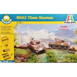 Italeri  1/72    M4A3 75mm...