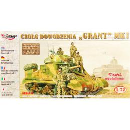 Mirage Hobby   1/72   Command Tank Grant Mk.I