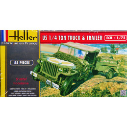 Heller  1/72  US 1/4 Ton...