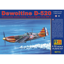 RS Models  1/72  Dewoitine...