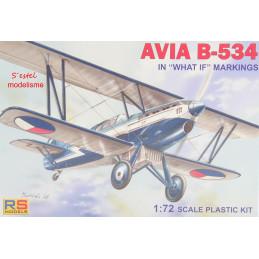 RS Models  1/72   AVIA B-534