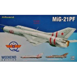 Eduard  1/48    MiG-21PF