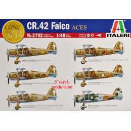 Italeri  1/48   CR.42 Falco...